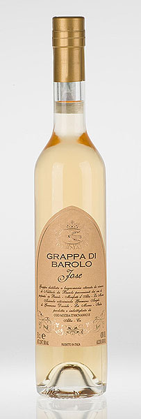 GRAPPA di BAROLO Jose affinata in barriques